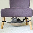 Small Dog Cat Crib Hammock Bed Under Chair Lounge End Table Adjustable Portable