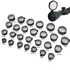 Scope Lens Cover Flip Up Objective Eye Protector Lid for Rifle Scope Caliber