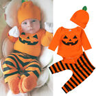 Newborn Infant Baby Kids Boy Outfits Clothes Set Romper Bodysuit+Pants Leggings