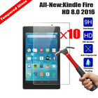 10Pcs 100%Genuine Tempered Glass Screen Protector For Amazon Kindle fire Tablets