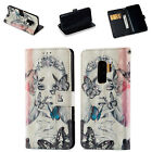 Pattern Magnetic Flip Stand Wallet Card Leather Case Cover For Galaxy S9/S8+/J3