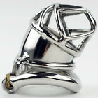 New Ring Design Stainless Steel Bird Cage Male Chastity Belt Devices S063