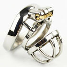 NEW Latest Design Stainless steel Male chastity devices Metal Cage S739