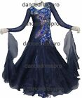 #2822 Ready-made Ballroom Modern Waltz Tango Dance Dress
