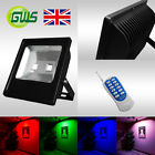 Slimline LED Floodlights Multi Colour Red Green Blue Amber 10W 20W 30W 50W 100W