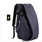 Causal Travel Oxford Backpack for Young Men Fashion Rider Bag Laptop Schoolbag N