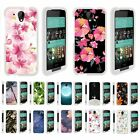 For HTC Desire 520 Hard Fitted 2 Piece Snap On Case White