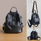Convertible Real Leather Small Backpack Rucksack Daypack Shoulder bag Purse Cute