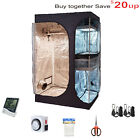 TopoGrow Indoor Grow Tent Room Package W/Hydroponic Accessories Growing Plants