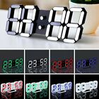LED Digital Large Jumbo Snooze Wall Room Desk Calendar Alarm Clock Display U1
