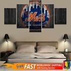 New York Mets Baseball 5 pcs Painting Canvas Wall Art Poster Home Decorative on Ebay