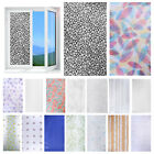 Frosted Bathroom Privacy Self-Adhesive Glass Door Window Film Home Sticker Decal