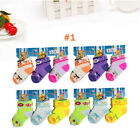 6-12 Pairs Cute Newborn Baby Toddler Girls Cotton Soft Ankle Socks Size  0-12