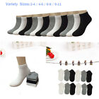 New 6 12 Pairs Child Girls Kids Ankle Low Cut Socks Solid Cotton Multiple Sizes