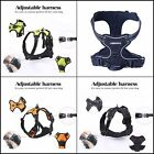 Adjustable Dog Harness Vest Reflective No-Pull Easy Control Pet Outdoor Walking
