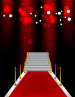10X10FT Halloween Red Carpet Photography Backdrop Photo Background Studio Props