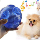 Pet Dog Cat Play Squeaky Quack Sound Chewing Treat Gift Train Fetch Ball Toy