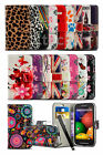 Samsung Galaxy S Duos 2 S7582 Printed Pattern Lush Design Wallet Case Cover &Pen