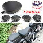 Rear Passenger Pillion Pad Seat For Harley Iron Sportster XL883 1200 48 72 10 16
