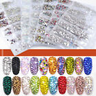 Kyпить 1728 Pcs Nail Art Rhinestones Glitter Crystal Gems Tips Manicure 3D Decoration на еВаy.соm