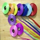 Florist poly ribbon - 100 Meter -- 5 MM wide -- MASSIVE COLOUR SELECTION STOCKED