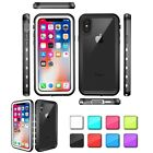 Full Waterproof Shockproof TPU Rubber Protective Case Cover For iPhones 7 Plus