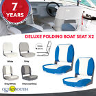 Deluxe Folding Boat Seats x2 image