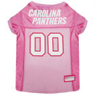 Carolina Panthers NFL Officially Licensed Pets First Dog Pet Pink Jersey XS-L $27.97 USD on eBay