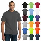 Mens Tall Pocket T-Shirt Core Blend 50/50 Cotton/Poly Short Sleeve Tee PC55PT image