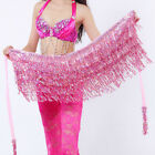 Delicate Tassel Hip Belly Dance Hip Scarf Sequin Skirt Colorful Waist Chain