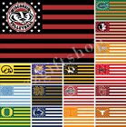NCAA DEF Nation Flag 3X2FT 5X3FT 6X4FT 100D Polyester