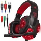 Cascos Gaming PS4 Audifonos Auriculares Gamer PC Xbox One Gaming Con Microfono