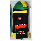 Fashion Popular Red Love Heart Men Women's Cotton Sock Gifts 5 Color Socks