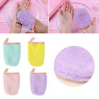 Reusable Coral Velvet Soft Facial Face Towel Makeup Remover Cleansing Glove Tool