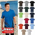 TALL Mens Pocket T-Shirt Heavy Weight Soft Ring Spun Comfort Blank Tee PC61PT image