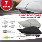 Heavy Duty T-Top Boat Cover