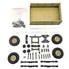 Upgrade Trailer DIY Part Set For WPL 1/16 Military Truck RC Car Plastic Metal