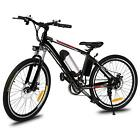 "26""36V10Ah Fat Tire mountain Beach bicycle e-Bike Electric Bicycle W/battery POP"