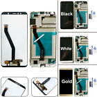 Full LCD Glass Display Digitizer Touchscreen Frame for Huawei Y6 2018 & Honor 7A
