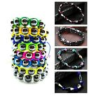 Hematite Bracelets Magnetic Healing Unisex Pain Relief Therapy Energy