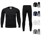 Mens High Quality Ultra Soft Fleece Lined Thermal Base Layer Top