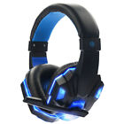 Gaming Headset Mic Stereo Surround Headphone 3.5mm Wired For PS4 Xbox PC