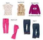 NWT Gymboree Fashionable Fox button top fur vest embroidered jeans 3 4 5 6 7 9