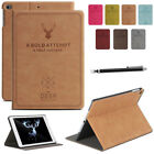 Luxury Premium Smart Leather Book Folding Stand Case Skin For Apple iPad Tablets