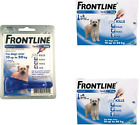 Front line Spot On for Medium Dogs 10-20kg 1, 3 or 6 Pipettes Flea Lice AVM-GSL,