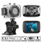 HD 720P LCD Touch Screen Sport Action Camera DV DVR Camcorder Cam Waterproof