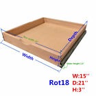Cabinet Roll Out Trays Wood Pull Out Tray Drawer Boxes Kitchen Cabinet Organizer