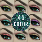 Women Lady Mixed glitter powder eyeshadow Eyes Pigment Loose makeup 45 colors