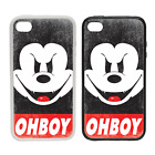 Mickey OHBOY - Rubber or Plastic Phone Case #1 - Parody Obey inspired Disobey