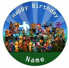 FNAF Five Nights at Freddys Personalised Edible Cake Topper Decor Icing or Wafer